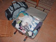 Der Koffer ist gepackt