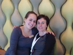 Mama und Ich in der AIDA Lounge