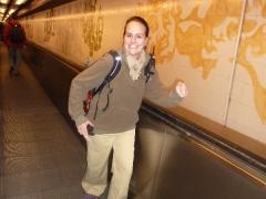 Ich in der Metro