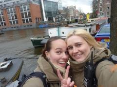 Manu & Ich in Amsterdam