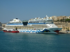 AIDAbella in Malta