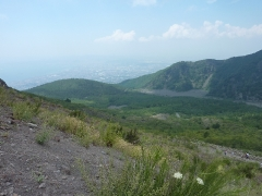 Blick vom Vesuv