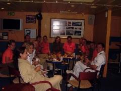 Mein Geburtstag mit dem ganzen Team von den shore-operations
