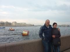 Meine Eltern an der Newa
