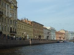 Blick von der Newa (Fluss)