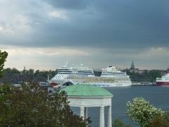 AIDAblu in Stockholm