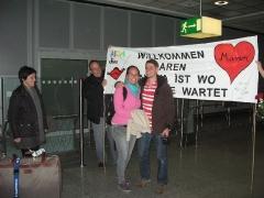 Empfang Flughafen Frankfurt